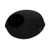 Trixie Wind-Proof Egg-Shaped Cave Bed For Cats – Black
