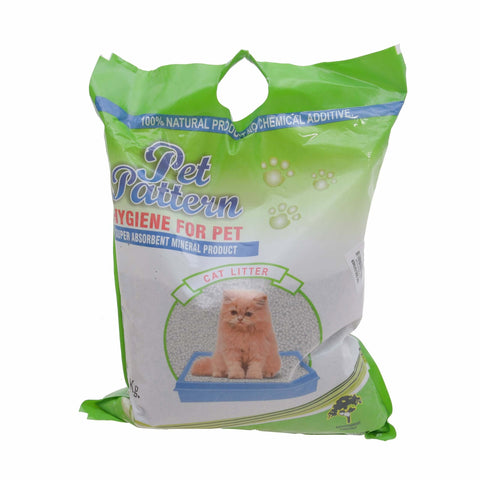 Pet Pattern Scoopable Bentonite Super Absorbent Cat Litter