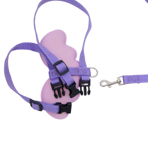 Pets Empire Pet Nylon Adjustable Fancy Harness And Leash For Cats