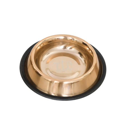 Pets Empire Stainless Steel Metallic Feeding Bowl For Dogs