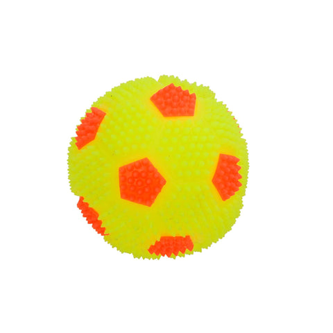 Pets Empire Spiky Squeaky Ball Toy For Dogs – Yellow