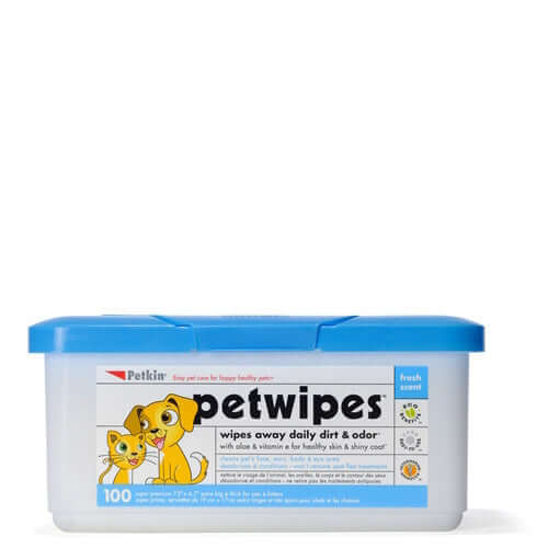 PetKin Pet Wipes (100 Wipes)