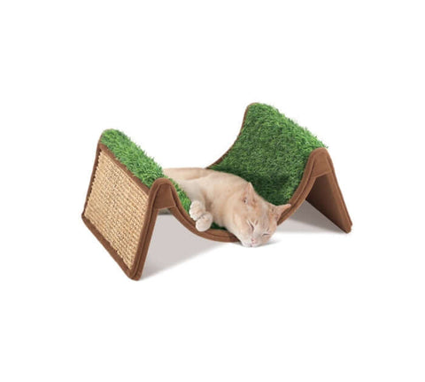 PetStages Scratch & Roll Sleep Station For Cats