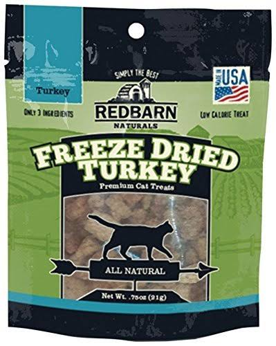 RedBarn Natural Freeze-Dried Turkey Grain-Free Cat Treats (21 Gms)