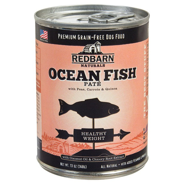 RedBarn Natural Grain-Free Ocean Fish Recipe Pate for Dogs (368 gms)