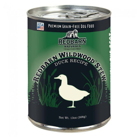 RedBarn Grain-Free Natural Duck Wildwoods Stew Dog Food (368 gms)