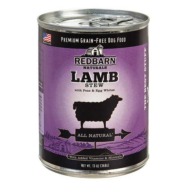 RedBarn Natural Grain-Free Lamb Recipe Stew for Dogs (368 gms)