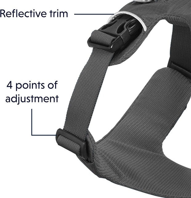 Ruffwear Front Range All-Day Adventure Harness For Dogs – Twilight Grey