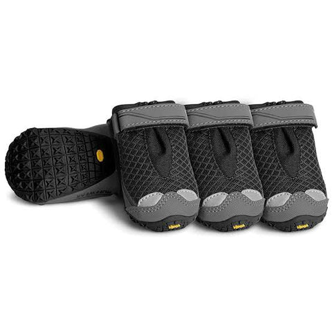 Ruffwear Grip Trex All-Terrain Paw Wear / Boots – Obsidian Black (Set Of 4)