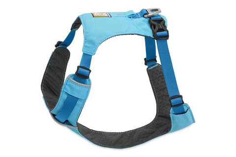 Ruffwear Hi & Light Lightweight, Low-Profile Harness For Dogs – Blue Atoll