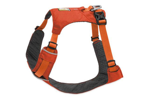 Ruffwear Hi & Light Lightweight, Low-Profile Harness For Dogs – Sockeye Red