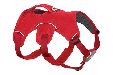 Ruffwear Web Master Harness For Dogs – Red Currant