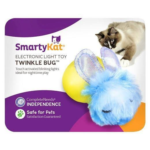 SmartyKat Twinkle Bug- Electronic Light Toy