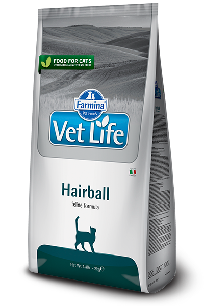 Vet Life Hairball Feline Formula Cat Food