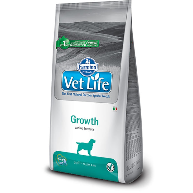 Vet Life Growth Canine Formula Dog Food