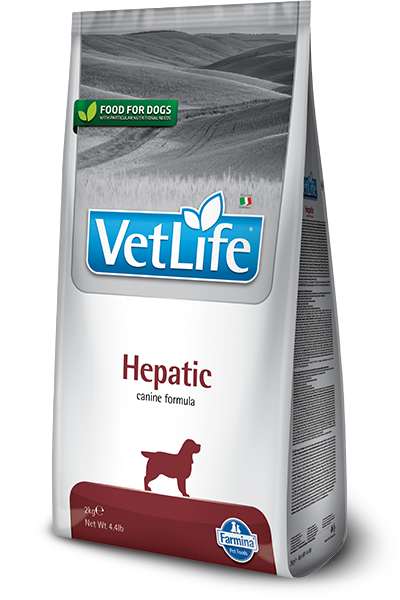 Vet Life Hepatic Canine Formula Dog Food