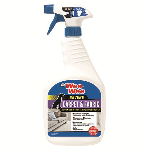 Wee-Wee SEVERE Carpet & Fabric Stain & Odor Destroyer