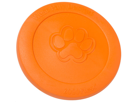 West Paw Zisc With Zogoflex Flying Disc For Dogs