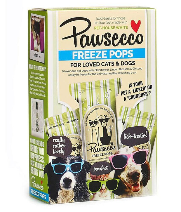 Pawsecco Freeze Pops for Pets Tropical Fruit Dog Treat