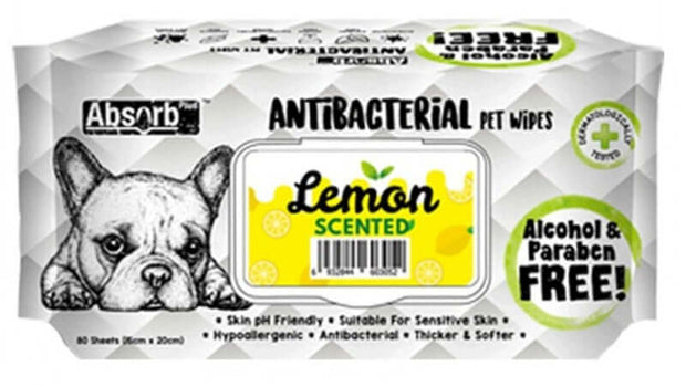 Antibacterial Pet Wipes For Dogs