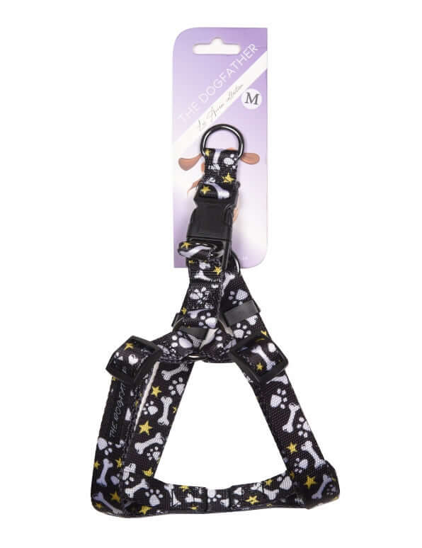 Los Arreos Black Night Harness For Dogs