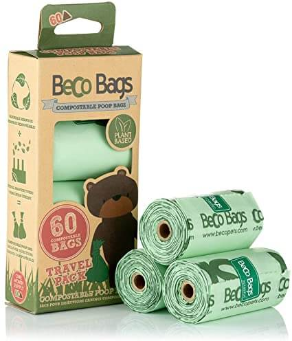 Beco Compostable Poop Bags (60 bags)