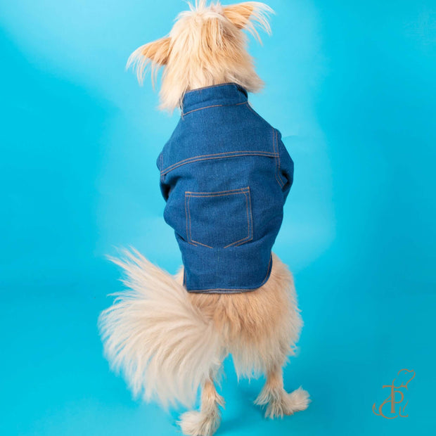 Denim Jacket For Dogs