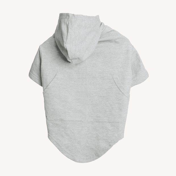 Grey Hoodie For Dogs