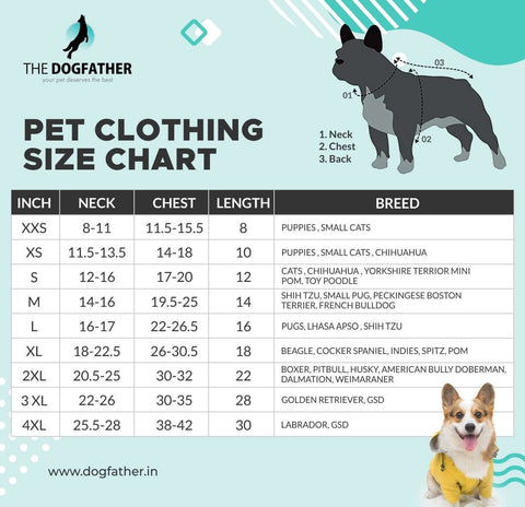 Premium Silver Winter Wear For Dogs.