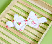 Marshy Watermelon Bow And Bandana For Dogs