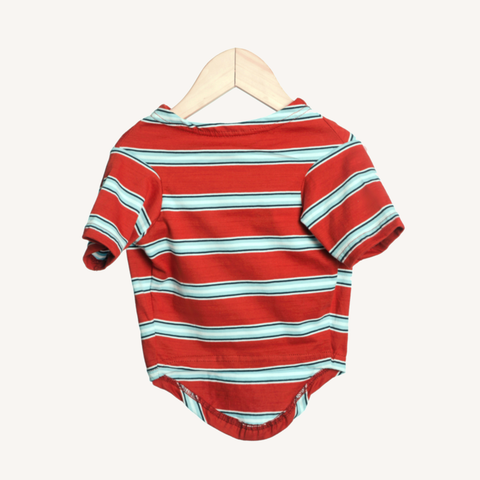 Red Blue Stripe T-Shirt For Dogs