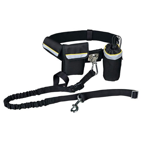 Trixie Dog Activity Waist Belt With Leash (for Walking Handsfree)
