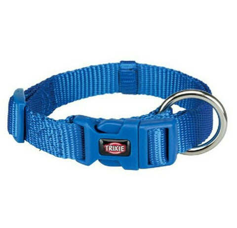 Trixie Germany Premium Collar- Royal Blue