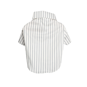 White and Blue Stripe Shirt For Dogs