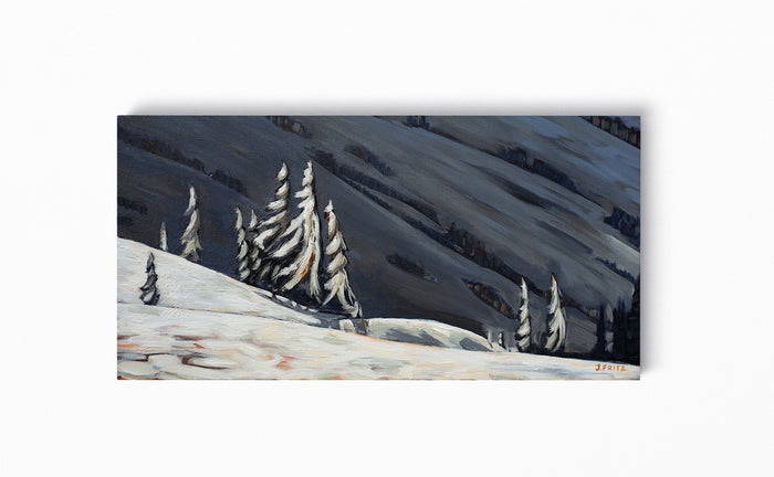 Standing In Shadows | 12 x 24 | Original Acrylic Painting