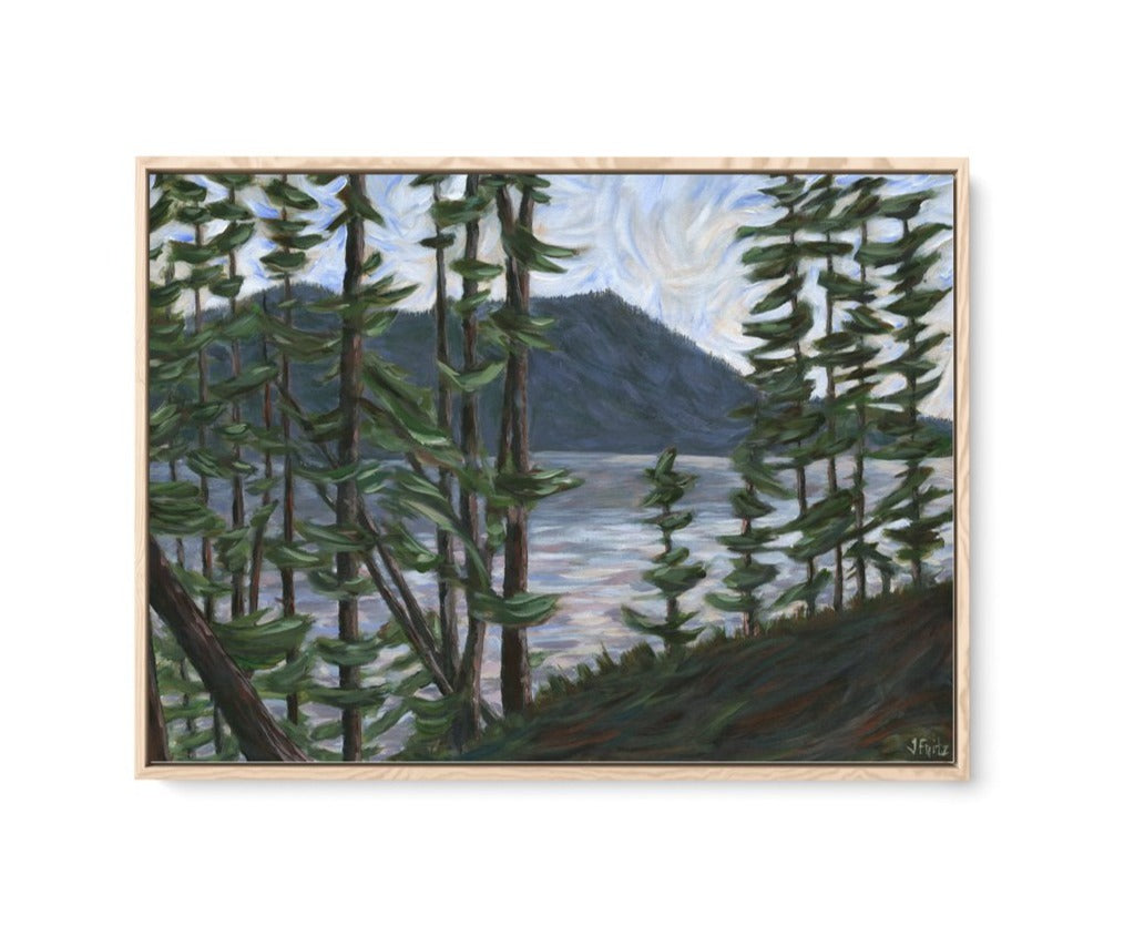 """Overlooking the Malahat"" 