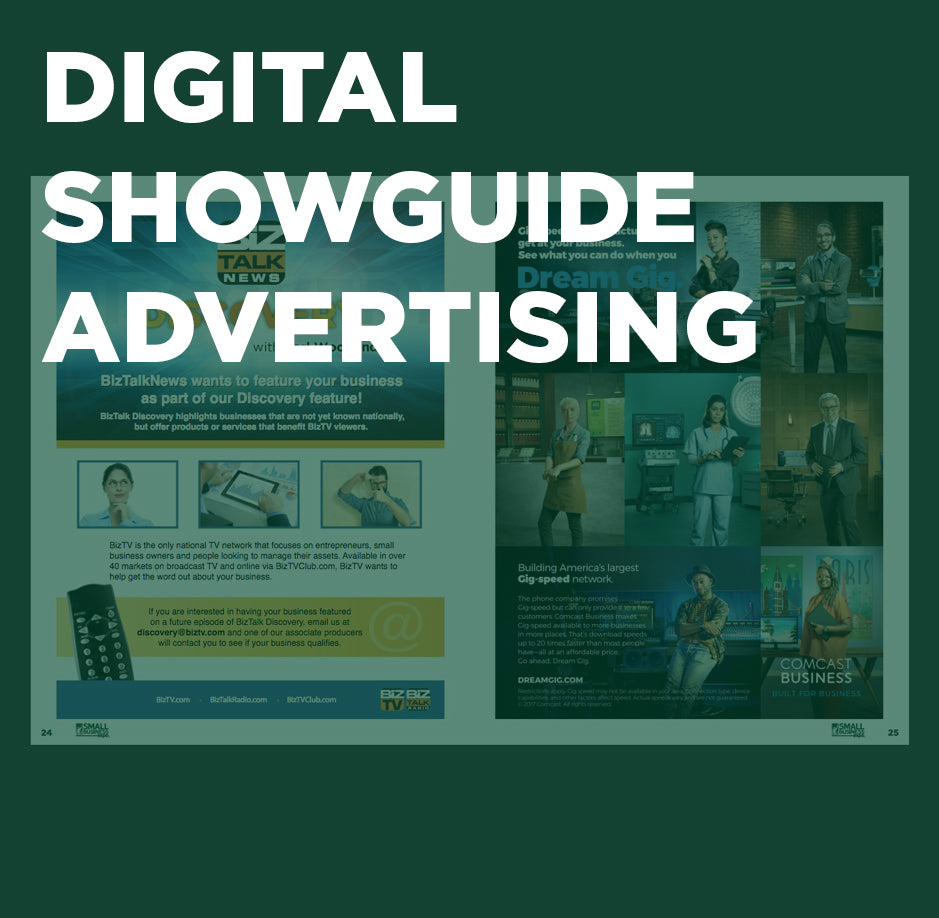 New York City Digital Showguide Advertising