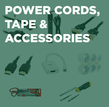 Houston 2020 Power Cords. Tape, & Accessories