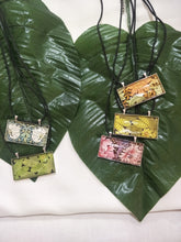 Tropical Art Glass Necklace
