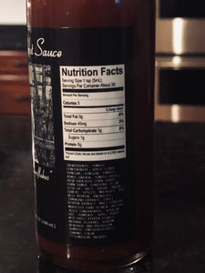 Granddaddys Hot Sauce Nutrition Facts