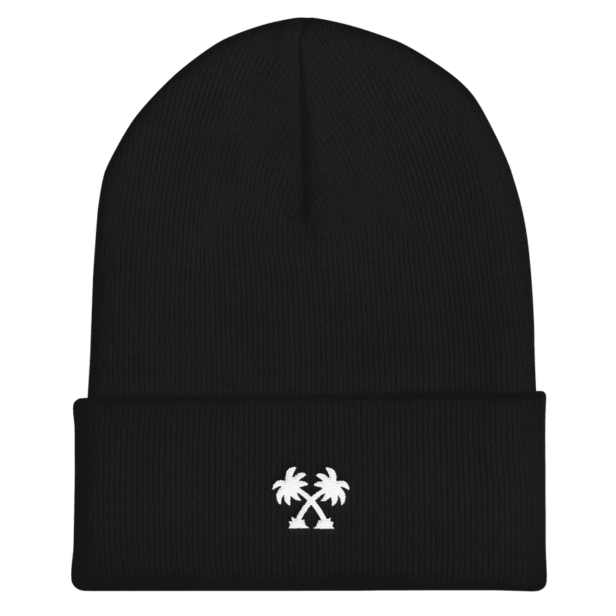 Palm Tree Beanie - Super Ink Clothing