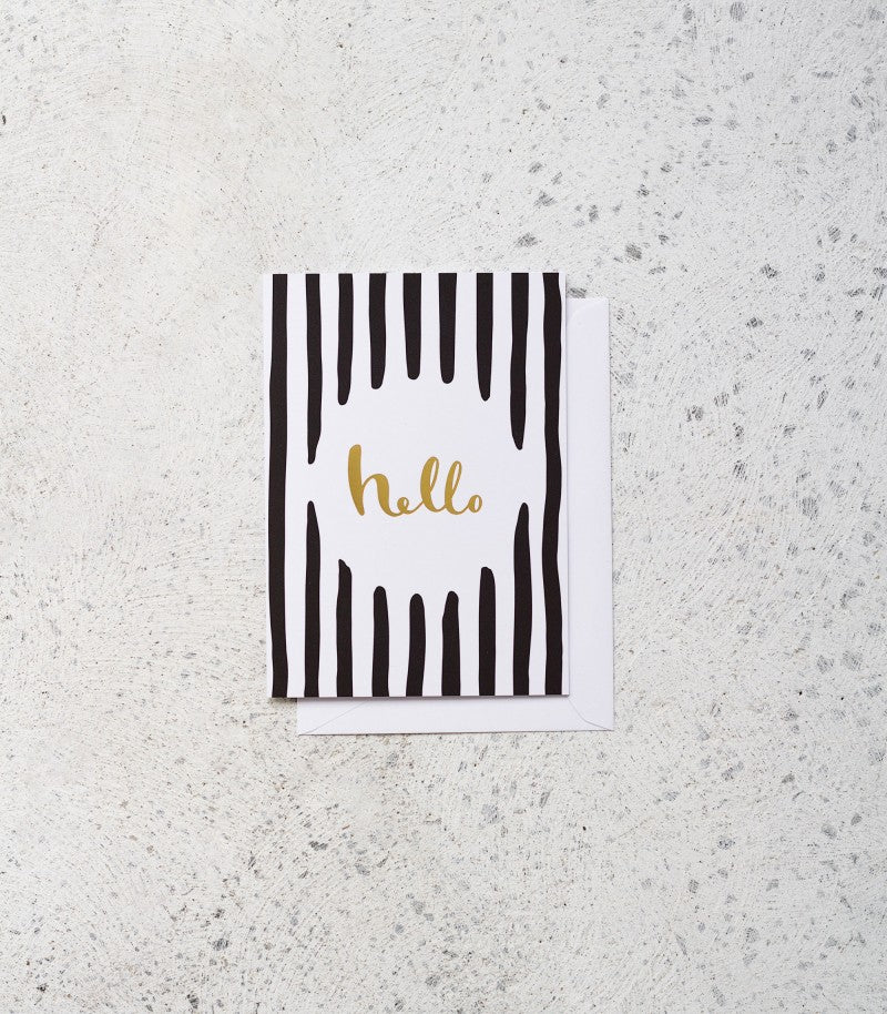 Knucklebones / Hello Card