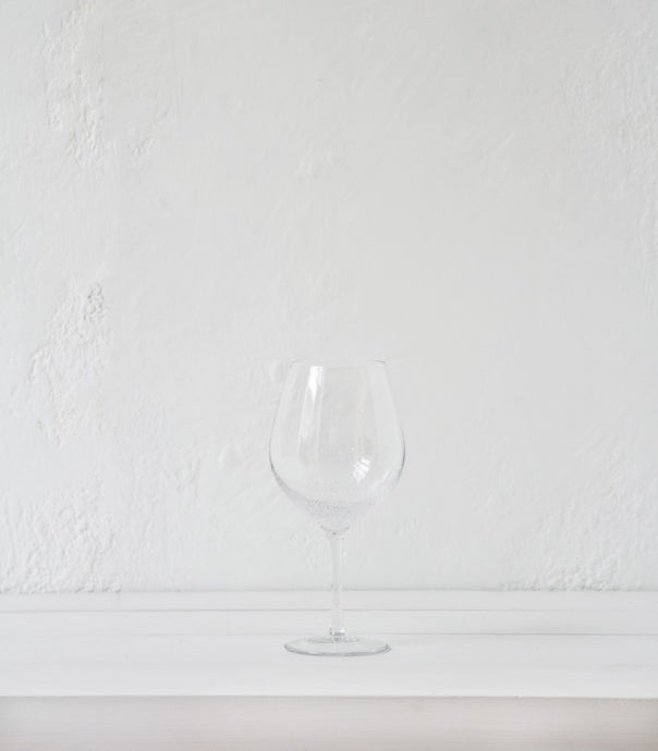 Red Wine Glass / Bubble