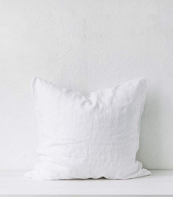bedouin societe / Euro Pillow Case / Pair/  White