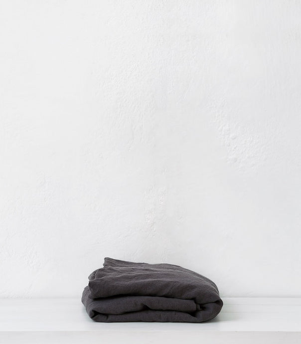 bedouin societe / Fitted Sheet / King / W180 x L205 x D40 / Lead