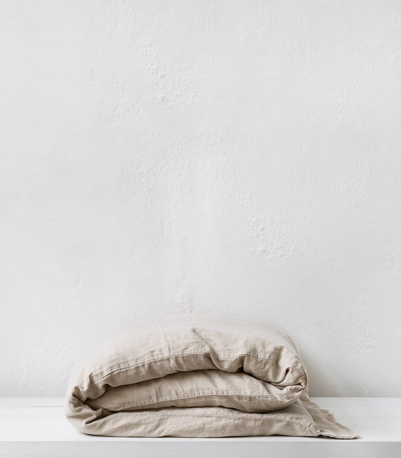 bedouin societe / Duvet Cover / Queen/  Stone