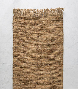 Armadillo & Co / Sahara Weave Entrance Mat / Natural / Large 50x140cm