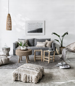 Arrowtown Wool Floor Rug / Charcoal/ 160x230cm