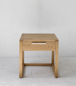 Eaton Oak Bedside Table 55x45x55