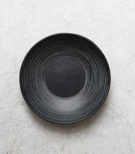 Metal Bowl / Black / Large / 35cm